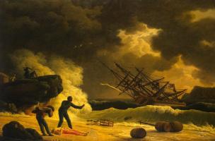 Клод Жозеф Верне. Смерть Виргинии