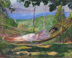 Henri Lebasque. Recent Villa in Saint-Tropez