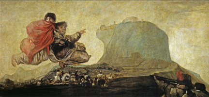 Francisco Goya. Asmodeus, or Fantastic vision