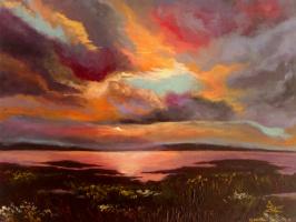 Ekateryna Zabruckaya. Vanilla sunset