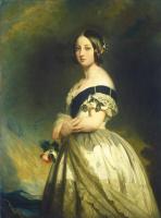 Франц Ксавер Винтерхальтер. Молодая королева Виктория
