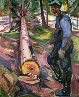 Edvard Munch. Cleaver