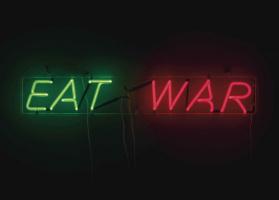 Bruce Nauman. Eat War
