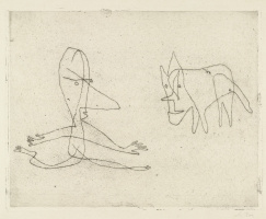 Paul Klee. Why Does He Run?