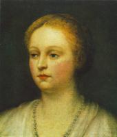 Якопо Тинторетто. Женский портрет