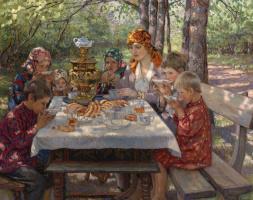 Nikolay Petrovich Bogdanov-Belsky. Guests teachers