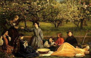 Джон Эверетт Милле. Цветущие яблони
