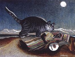Бернард Клибан. Ночной кот