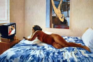 Джоан Тод. В спальне