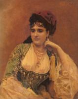 Раймундо Мадрасо. Портрет леди
