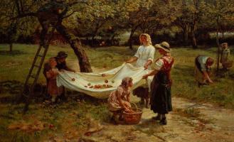 Фредерик Морган. Сбор яблок