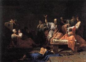 Жан-Франсуа-Пьер Пейрон. Смерть Сократа