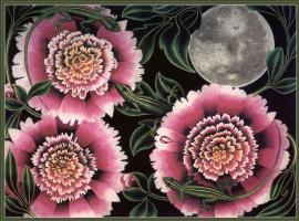 Гэри Бачерс. Три пиона и луна
