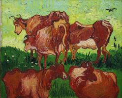Винсент Ван Гог. Коровы