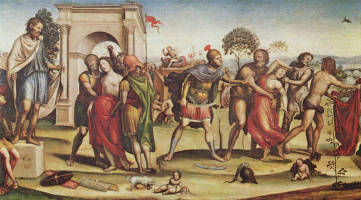 Содома. Похищение сабинянок