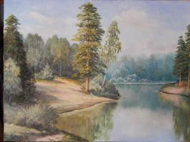 Николай Викторович Омельченко. Пейзаж с далями