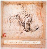 "Леонардо да Винчи. Эскиз рукава для ""Благовещения"""