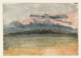 Джозеф Мэллорд Уильям Тёрнер. Грозовые облака: закат и розовое небо