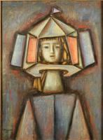 Alexander Grigoryevich Tyshler. Puppet Show N 6