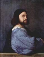 Тициан Вечеллио. Портрет Ариосто