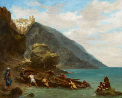 View of Tangier from the shore