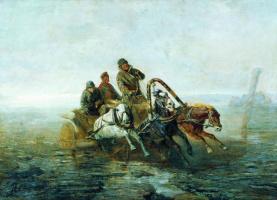 Николай Егорович Сверчков. По Великому Сибирскому пути (В ссылку). 1883