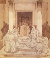 Михаил Александрович Врубель. Обручение Святой Девы Марии с Иосифом