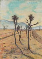 Фердинанд Ходлер. Деревья в Тичино