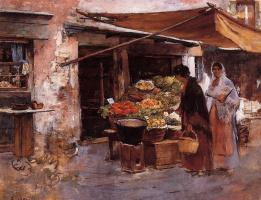 Фрэнк Дувенек. Фруктовый рынок в Венеции