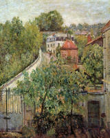 Alfred Sisley. View Of The Sevres