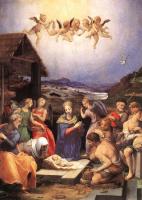 Аньоло Бронзино. Рождество Спасителя