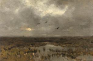 Anton Maouve. The Swamp (Swamp)