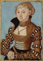 Lucas Cranach the Elder. Portrait of a Saxon lady