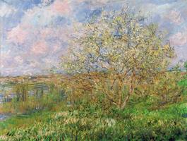 Клод Моне. Весна