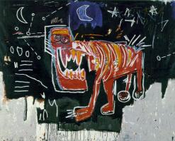 Jean-Michel Basquiat. Dog