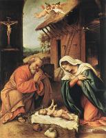 Лоренцо Лотто. Рождество