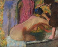 Эдгар Дега. Женщина в ванне