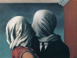 René Magritte. The lovers