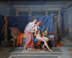 Jacques-Louis David. The love of Paris and Helen