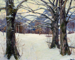 Эдвард Кукуэль. Деревья зимой