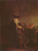 Рембрандт Ван Рейн. Библейская фигура