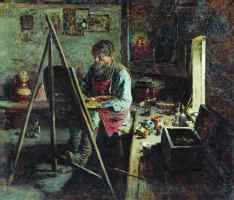 Абрам Ефимович Архипов. Деревенский иконописец