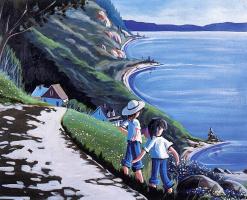 Рено Симард. Дети любуются пейзажем
