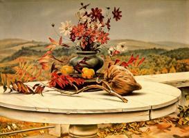 Кларенс Холбрук Картер. Натюрморт с цветами