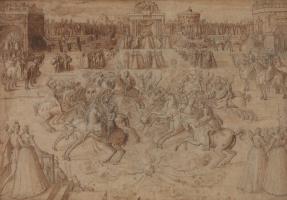 Antoine Karon. Carousel of British and Irish knights