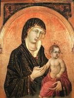 Симоне Мартини. Мадонна с младенцем