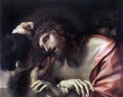 Аннибале Карраччи. Глумление над Христом