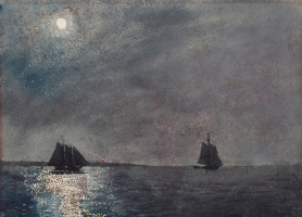 Winslow Homer. The moonlight from the East