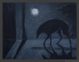 Fefa Koroleva. Full moon!