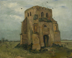 Vincent van Gogh. Old Church tower at Nuenen